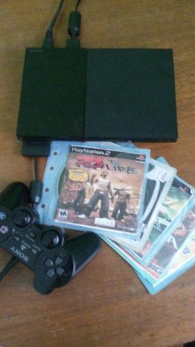 Playstation2 control y juegos 100% funcional