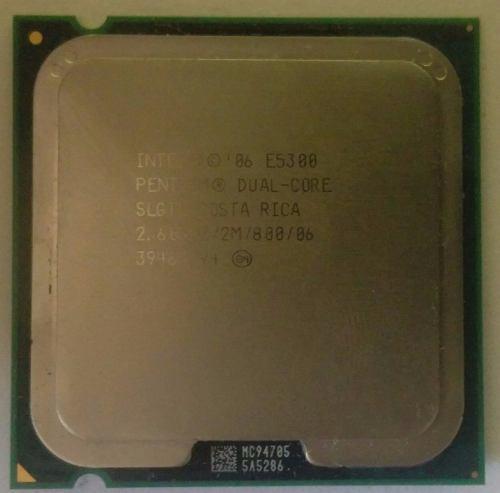 Procesador dual core e5300 usados (10$)