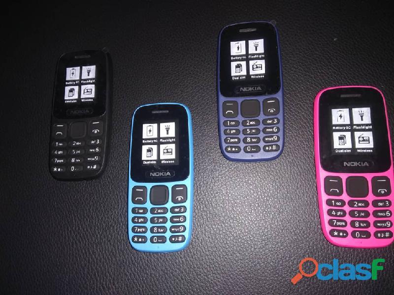 Telefono nokia basico modelo 105 con linterna