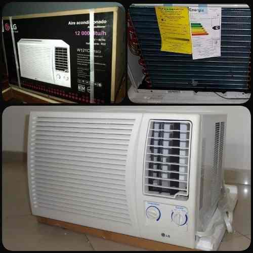 Aire acondicionado de ventana 12000 btu lg 220v ¡nuevo!