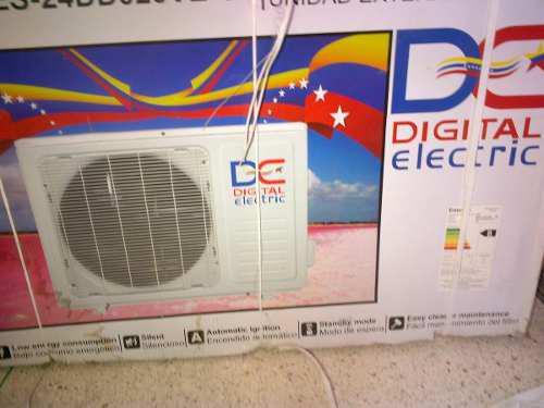 Aire acondicionado digital electric 24000btu (new)