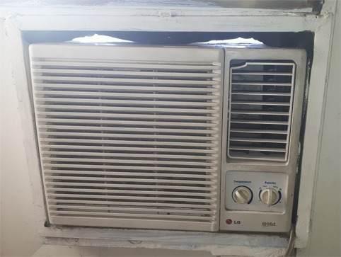 Aire acondicionado lg 9.000 btu 110v usado charallave