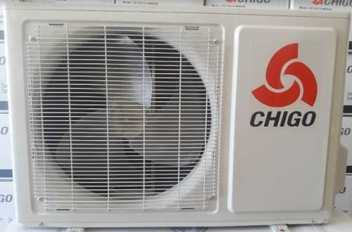 Aire acondicionado mini split 12.000 btu/h marca: chigo 110v