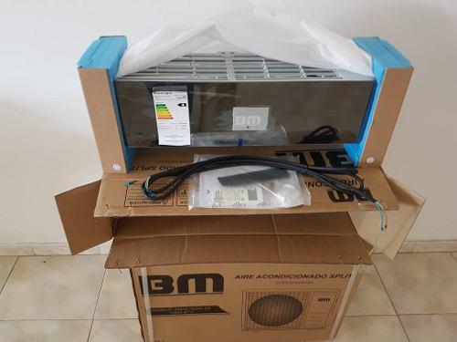 Aire acondicionado split 13.500 btu bm consola de lujo
