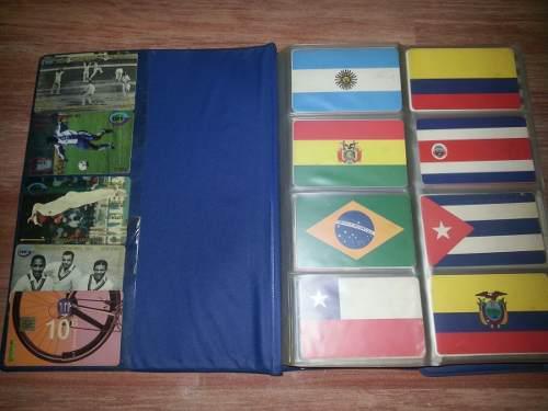 Colección tarjetas cantv