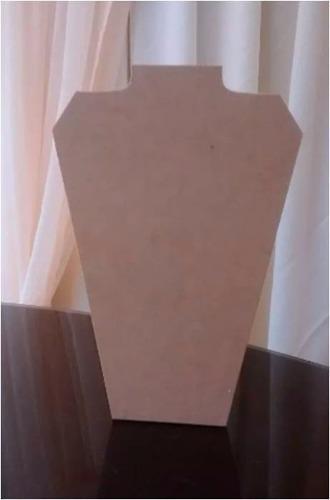Exhibidor de collares mdf crudo 20x30cm