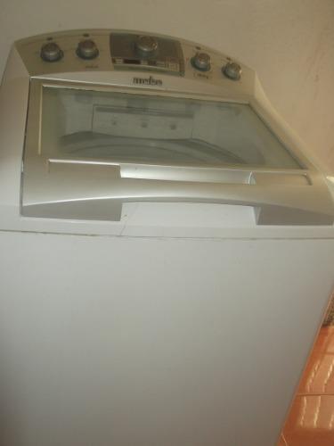 Lavadora mabe blanca capacidad 18 kg 100 verdes