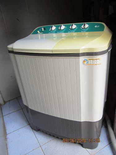 Lavadora semiautomática lg 7 kg