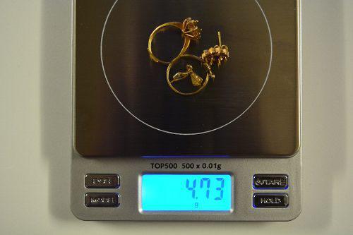 Oro 18k 4,73 gramos