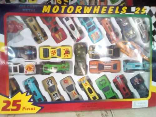 Set de 25 carritos metal para niños oferta, carros, juguete