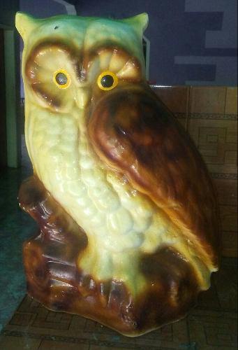 Artesanias animales grandes en ceramica gata buho perra