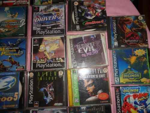 Juegos playstation 1 en fisico en oferta 2500 c/u -