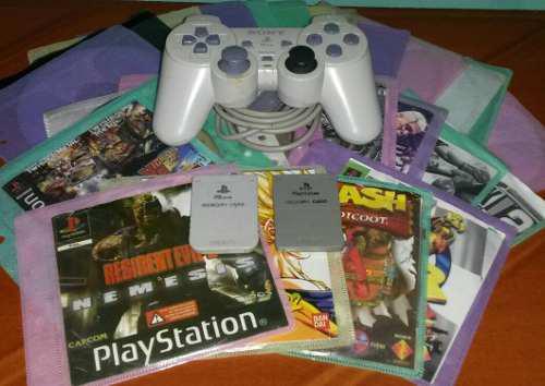 Lea bien! juegos control y memorycard's de playstation one