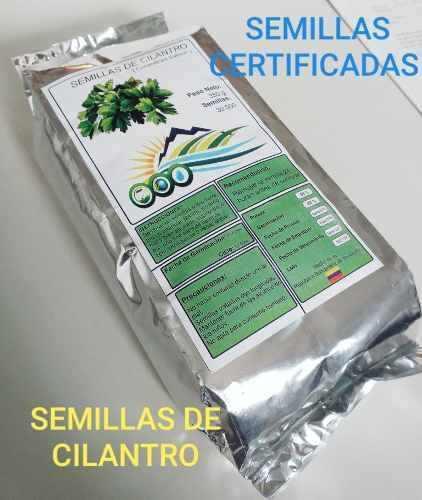 Semillas de cilantro certificadas 350gr