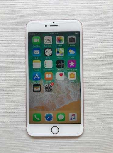 Iphone 6s plus 64gb rose/gold liberado sin detalle (290)