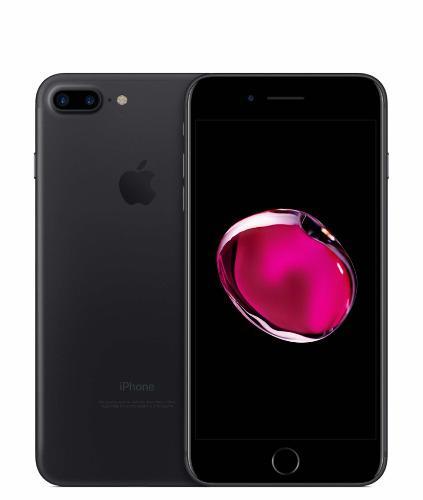 Iphone 7 plus 128 gb negro mate.
