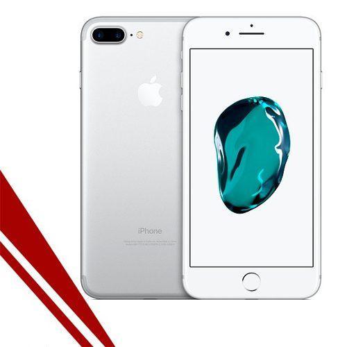 Iphone 7 plus silver 32 gb 4g lte (somos tienda)