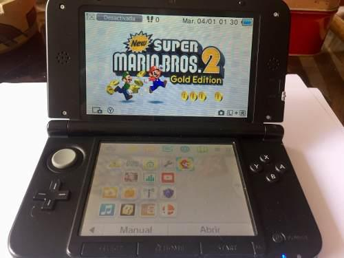 Nintendo 3ds xl + chip virtual + 20 gb de memoria + regalos