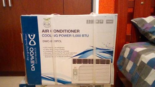 Aire acondicionado de ventana daewoo 5000 btu