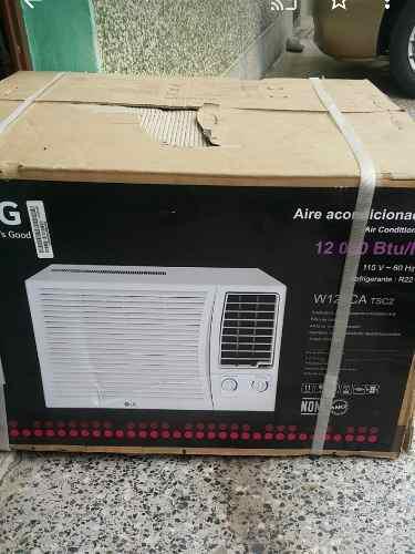 Aire de ventana lg de 12.000 btu nuevo pague al recibir