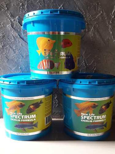 Alimentos para peces spectrum cichild y marino