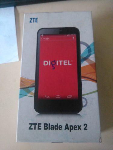 CELULAR TELEFONO ZTE BLADE APEX2 CON SU CAJA 95$ segunda mano  Sucre-Sucre (Sucre)