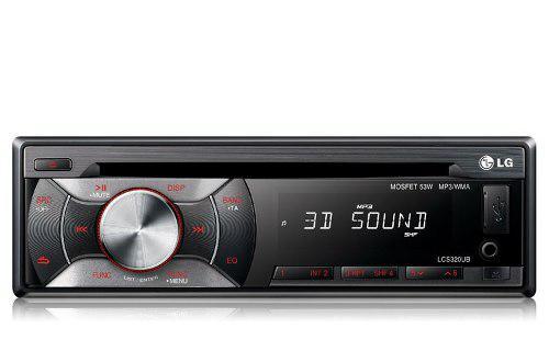 Radio lg cd mp3 usb aux subwoofer somos tienda !!!! 75 vdrs