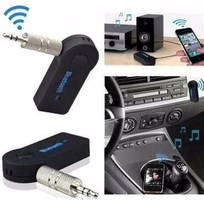 Transmisor reproductor carro bluetooth a 3.5 aux