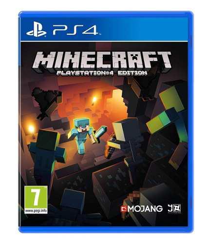 Juego minecraft ps4 nuevo tienda física mundogames