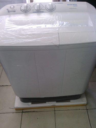 Lavadora doble tina mademax 8 kg
