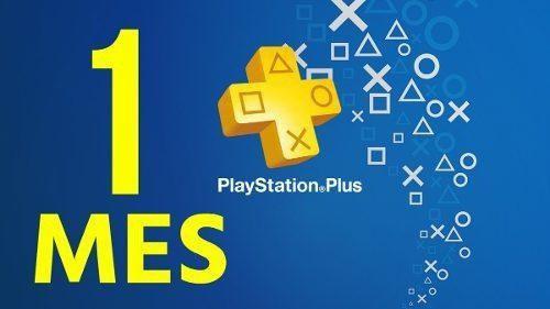 Psn plus 1 mes ps4 + juegos del mes