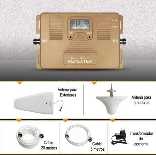 Amplificador señal celular repetidora movistar 3g digitel