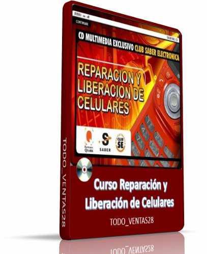 Curso interactivo reparación y liberación de celulares