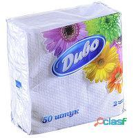 Servilletas de papel 1 paquete (50 piezas, tamaño 24/25 centímetros) cuesta $ 2 (dólares estadounide