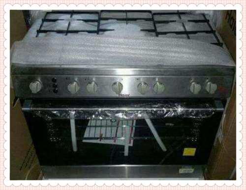 Cocina de 5 hornillas cromada