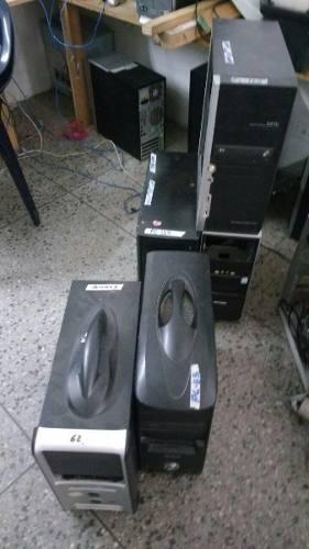 Computadoras completas, cpu,monitor, teclado y mouse