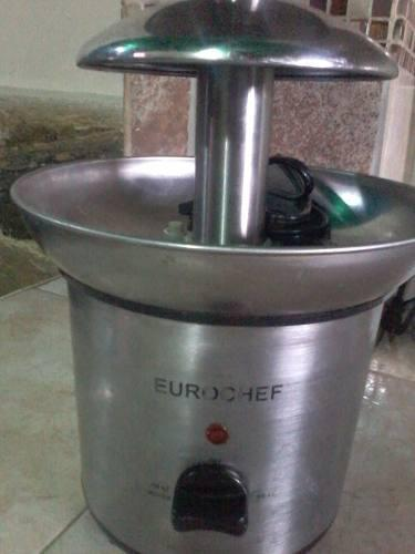 Fuente de chocolate 4 niveles eurochef usada