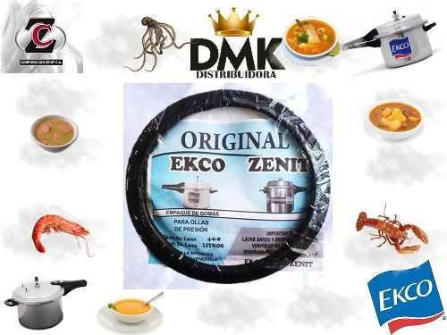 Goma de olla de presión ekco,zenith con empaque oferton hoy