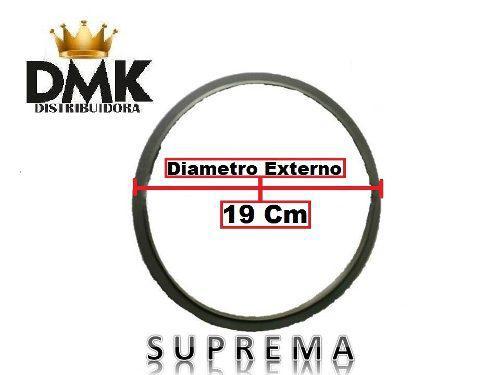 Goma olla de presión suprema de 4 6 y 8 litros 19 cms