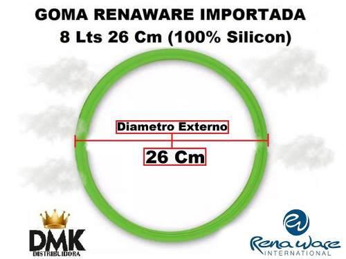 Goma olla rena ware importada 8 l 26 cm silicon 100%