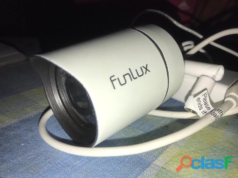 Camara de seguridad marca funlux