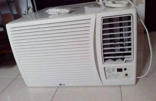 Aire acondicionado de ventana marca lg 12.000 btu