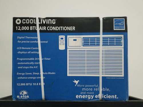 Aire acondicionado ventana 12000 btu 110v
