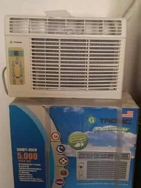 Aire acondicionado ventana 5btu g tronic. ofertaaa!!!