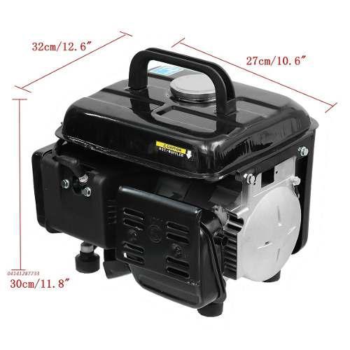 Planta electrica generador gasolina 800 watts 110v 2 tiempo