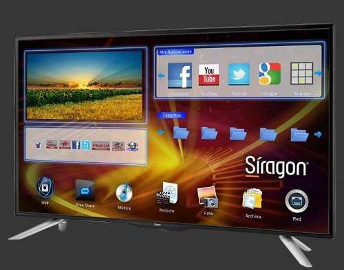 Smart tv siragon 40 usado