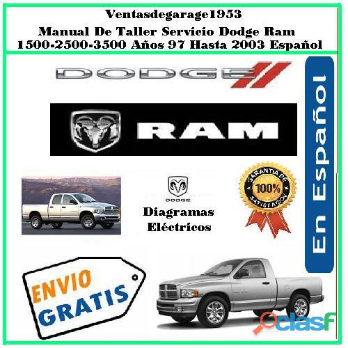 Manual de taller y servicio dodge ram 1500 2500 3500