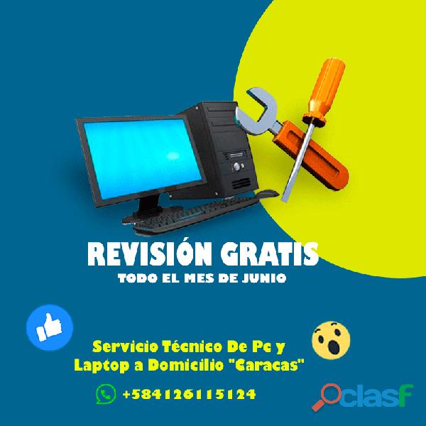 """Reparación de computadoras y laptop a domiclio """"revision gratis junio,aprovecha"""""""