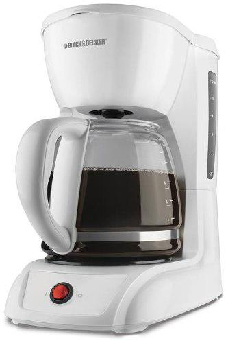 Cafetera black and decker de 12 tazas modelo:cm1200w.