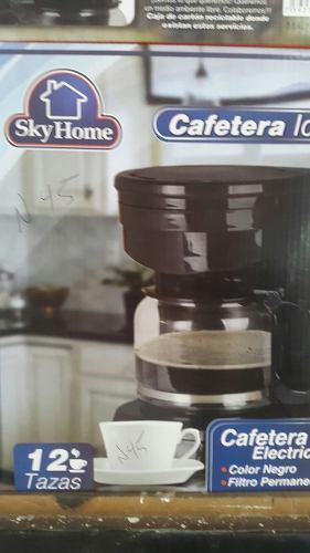 Cafetera eléctrica 12 tazas skyhome nueva somos tienda